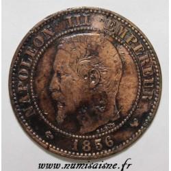 GADOURY 103 - 2 CENTIMES 1856 W - Lille - NAPOLÉON III - KM 776