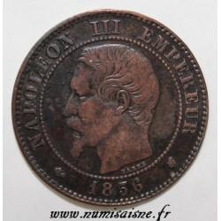 FRANKREICH - KM 776 - 2 CENTIMES 1856 K - Bordeaux - NAPOLÉON III