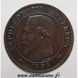 FRANCE - KM 776 - 2 CENTIMES 1856 B - Rouen - NAPOLÉON III
