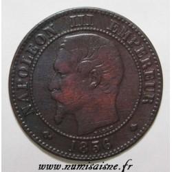 GADOURY 103 - 2 CENTIMES 1856 BB - Strasbourg - NAPOLÉON III - KM 776