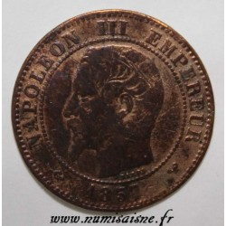 GADOURY 103 - 2 CENTIMES 1857 W - Lille - TYPE NAPOLEON III - KM 776