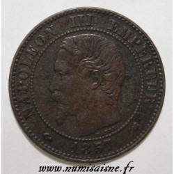 FRANCE - KM 776 - 2 CENTIMES 1857 K - Bordeaux - TYPE NAPOLEON III