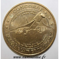 County 93 - LE BOURGET - AIR AND SPACE MUSEUM - CONCORDE - MDP 2004