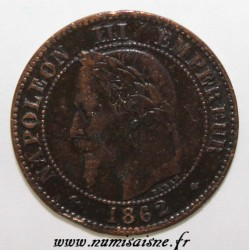 FRANKREICH - KM 796 - 2 CENTIMES 1862 A - Paris - NAPOLEON III