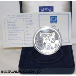 GREECE - KM 202 - 10 EURO 2004 - WEIGHTLIFTING