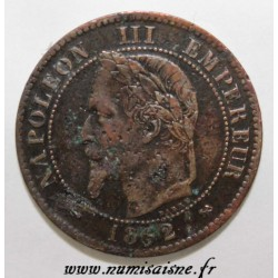 GADOURY 104 - 2 CENTIMES 1862 K - Bordeaux - TYPE NAPOLEON III - KM 796
