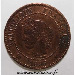 GADOURY 105 - 2 CENTIMES 1895 A - Paris - TYPE CÉRÈS - KM 827