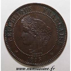 FRANKREICH - KM 827 - 2 CENTIMES 1895 A - Paris - TYP CERES