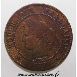 FRANKREICH - KM 827 - 2 CENTIMES 1879 A - Paris - TYP CERES