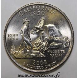 UNITED STATES - KM 321 - 1/4 DOLLAR 2001 P - CALIFORNIA - GEORGE WASHINGTON