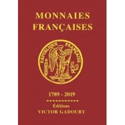 MONNAIES FRANCAISES 1789 - 2019 GADOURY - REF1840/19