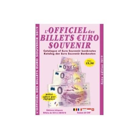 L'OFFICIEL DES BILLETS EURO SOUVENIR - 4EME EDITION 2019-2020