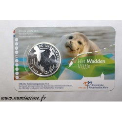 NETHERLANDS - KM 370 - 5 EURO 2016 - Wadden Sea