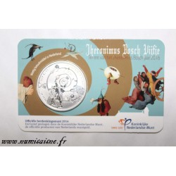 NETHERLANDS - KM 373 - 5 EURO 2016 - 500 years since the death of painter Jérôme Bosch