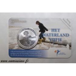 PAYS BAS - KM 296a - 5 EURO 2010 - Waterland
