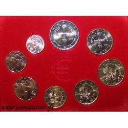 ZYPERN - EURO COIN SET 2018 - 8 COINS - 1 CENT TO 2 EURO