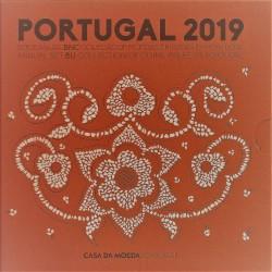 PORTUGAL - 3.88 € - MINTSET BU 2019 - 8 COINS