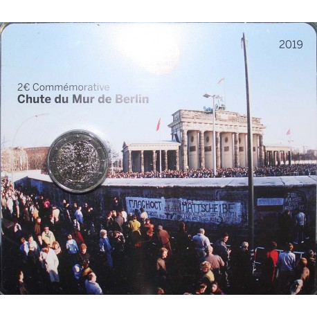 FRANCE - 2 EURO 2019 - 30th ANNIVERSARY - FALL OF THE BERLIN WALL