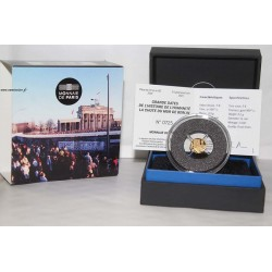 FRANCE - 5 EURO 2019 - 30th ANNIVERSARY - FALL OF THE BERLIN WALL