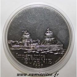 FRANCE - MEDAL - BOAT - EMPRESS EUGENIE - 1865 - TRANSATLANTIC