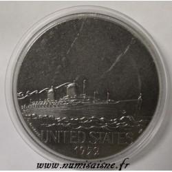 FRANCE - MEDAL - BOAT - UNITED STATES - 1952 - TRANSATLANTIC