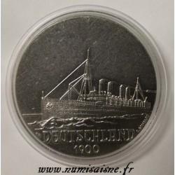 FRANCE - MEDAL - BOAT - DEUTSCHLAND - 1900 - HAPAG