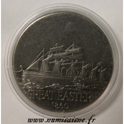 FRANCE - MEDAL - BOAT - GREAT EASTERN - 1860 - TRANSATLANTIC