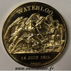 FRANCE - MEDAL - NAPOLÉON BONAPARTE - WATERLOO - 1815