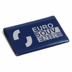 Album de poche 'ROUTE' pour 40 billets Euro Souvenir