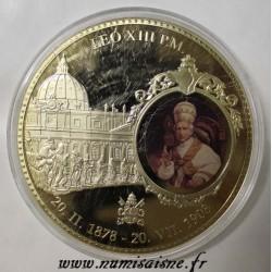 FRANCE - MÉDAILLE - PAPE LÉON XIII
