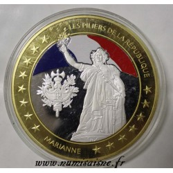 FRANCE - MEDAL - THE PILLARS OF THE REPUBLIC - MARIANNE