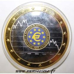 FRANCE - MÉDAILLE - EUROPE - MONNAIE BANQUE COMMERCIALE 1999