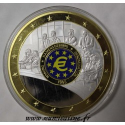 FRANCE - MÉDAILLE - EUROPE - DENOMINATION 1995