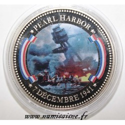 FRANCE - MÉDAILLE - PEARL HARBOR - 7/12/1941