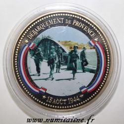 FRANCE - MÉDAILLE - DÉBARQUEMENT DE PROVENCE - 15/08/1944