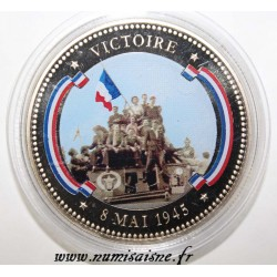 FRANCE - MEDAL - VICTORY - 08/05/1945