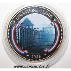 FRANCE - MÉDAILLE - LIBÉRATION DES CAMPS - 1945