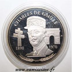 FRANCE - MEDAL - CHARLES DE GAULLE - 1890 - 1970