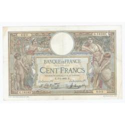 FAY 24/04 - 100 FRANCS Luc Olivier MERSON - 08/05/1926 - TTB - PICK 78