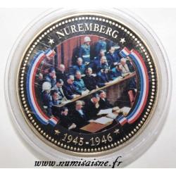 FRANCE - MÉDAILLE - NUREMBERG - 1945 - 1946