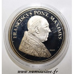 FRANCE - MEDAL - POPE - FRANCIS - 2013