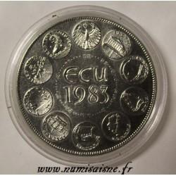 FRANCE - MEDAL - EUROPA - ECU 1983