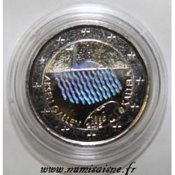 FINLANDE - 2 EURO 2015 - AKSELI GALLEN KALLELA - HOLOGRAMME