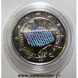 FINNLAND - 2 EURO 2015 - AKSELI GALLEN KALLELA - HOLOGRAM