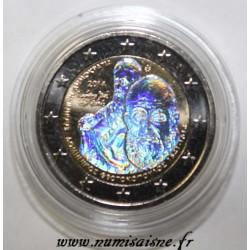 GRÈCE - 2 EURO 2014 - 400 ans de la mort Doménikos Theotokopoulos - El Greco - HOLOGRAMME