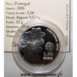 PORTUGAL - 2,5 EURO 2016 - CHANT ALENTEJANO