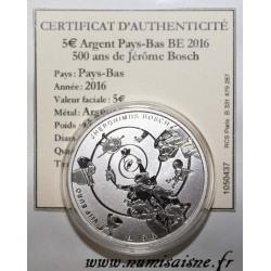NETHERLANDS - 5 EURO 2016 - 500 YEARS OF JÉRÔME BOSCH