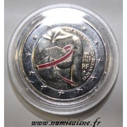 FRANCE - 2 EURO 2017 - 25 ANS DU RUBAN ROSE - COULEUR