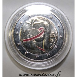 FRANCE - 2 EURO 2017 - 25 YEARS OF THE PINK RIBBON - COLOR