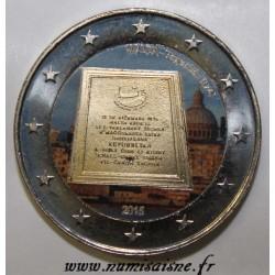 MALTE - 2 EURO 2015 - RÉPUBLIQUE 1974 - COULEUR